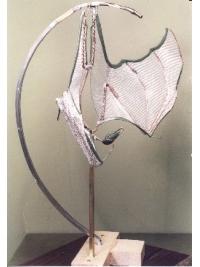 Fruit Bat Armature by Reconstruction: Lesser Mascarene Fruit Bat